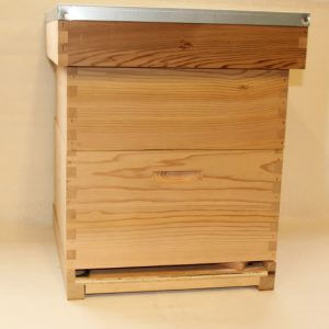 red ceder bijenkast compleet